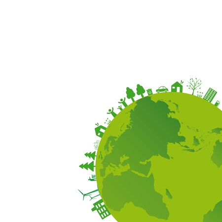 地球の日に使用することができます生態系の概念