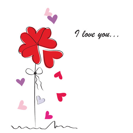 バレンタイン カード 写真素材 - 24124943