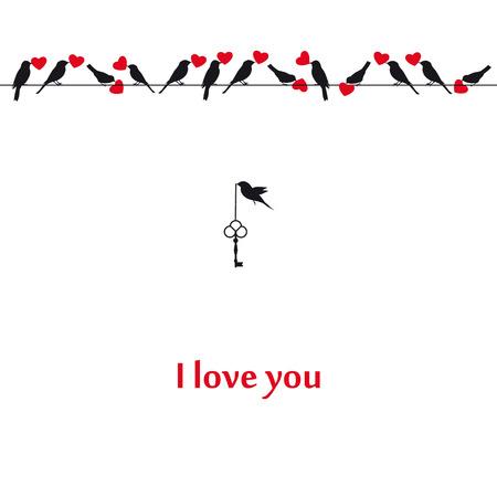 valentine s card: Card on Valentine s day