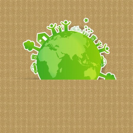 Ecology concept you can use on Earth Day photo