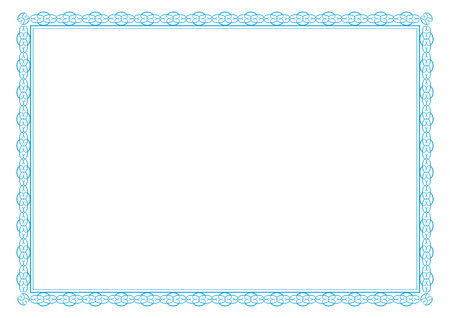 simple border: Cute frame for certificates, diplomas, contracts etc