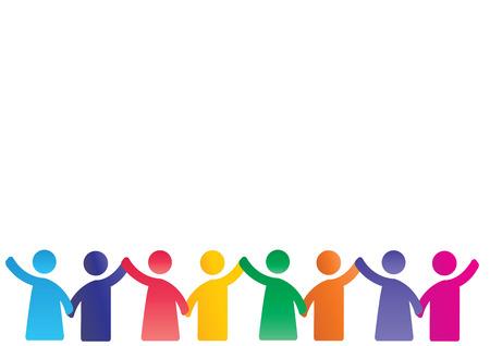 Hintergrund Piktogramme zeigen Zahlen glückliche Familie Standard-Bild - 31385209