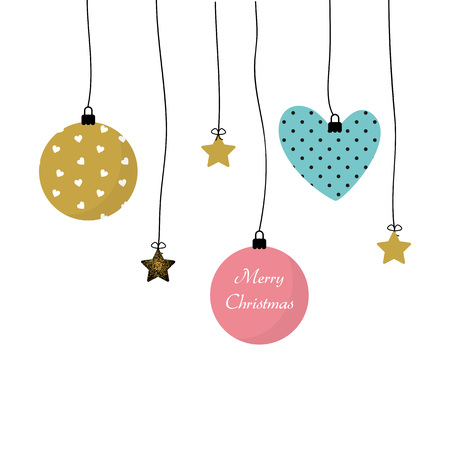 christmas time: Simple and elegant card for Merry Christmas