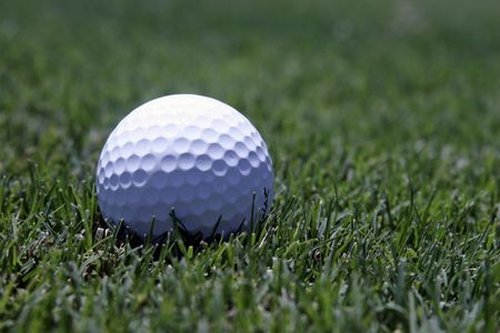 Golf Ball In The Rough