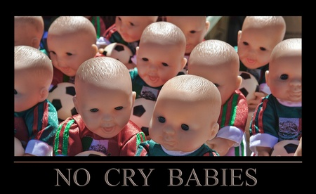 No Cry Babies - several baby doll heads