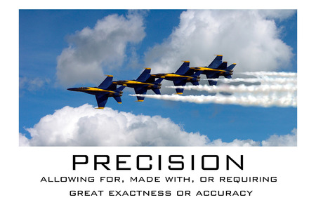 Precision - US Navy Blue Angels