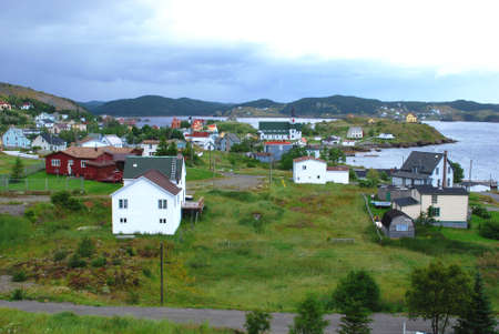 Trinity in Newfoundland Stock Photo