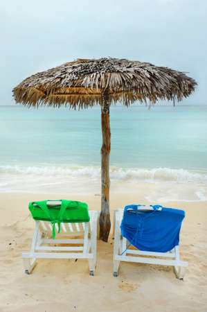 Cuban beach chairs
