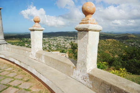 View from Loma de Cruz at Holguin city, Cuba