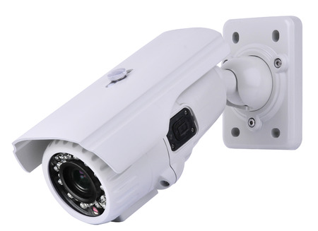 глядя на камеру: CCTV камеры