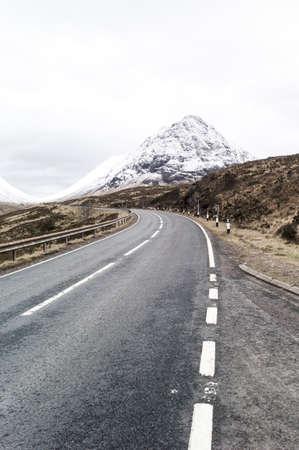 glencoe: A82 through Glencoe