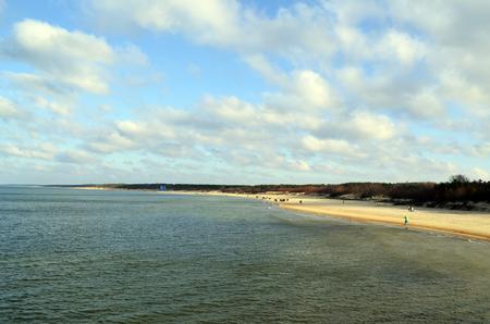 baltic sea: Baltic sea coast near the city of Palanga