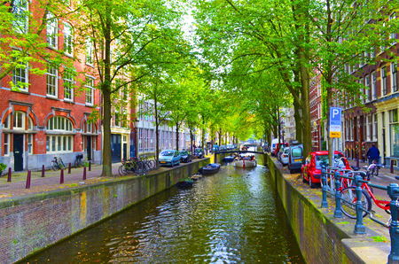 the netherlands: Colorful Amsterdam, Netherlands