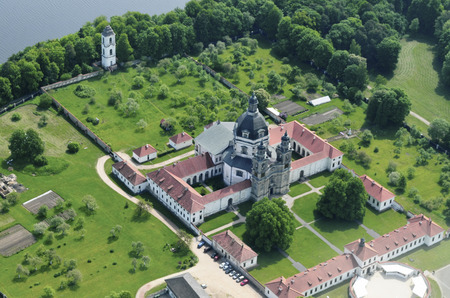 baroque architecture: Pazaislis monastery and church Lithuanian is a large monastery complex in Kaunas, Lithuania, and the example of Italian Baroque architecture