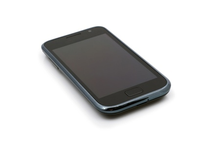 Touch-screen phone device. Stock Photo - 9565297