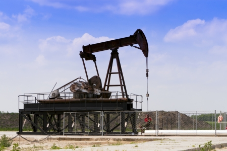 middle east crisis: Producing oil wells in the field
