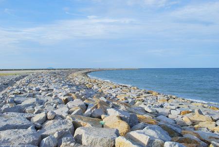 breakwater: Breakwater of big rocks