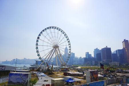 observation wheel: Hong Kong Observation Wheel