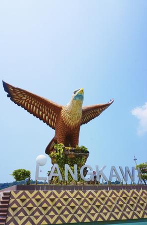 lang: Eagle Square in Langkawi, Malaysia.