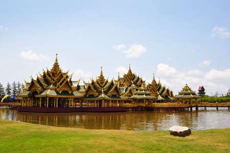 Salathai the ancient city in Samutprakarn , Thailand