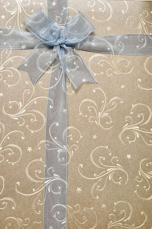 the gift box and wrapped with ribbon for special occasion
