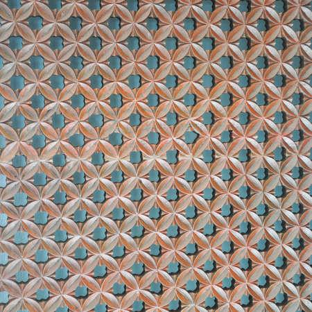 Wood Thai pattern Handmade wood carvings. Chiangmai Thailand photo
