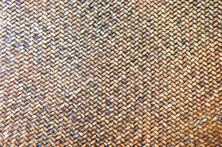 Close-up of a weaved basket in natural color photo