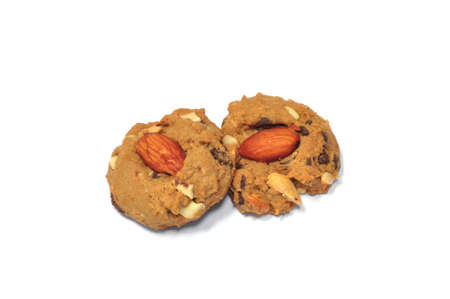 the almond choccolate chip cookies photo