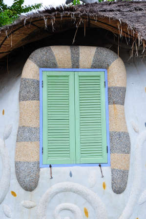The fansy window designed for exter decoration Stock Photo - 17886255