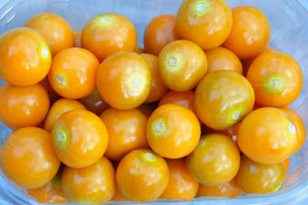 cape gooseberry: the fresh cape gooseberry rich with vitamins Stock Photo