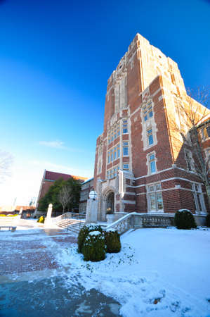 The University of Tennessee during snow time Editorial