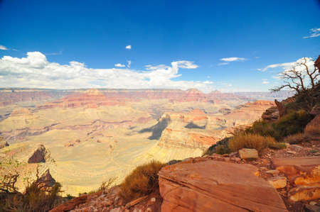 A top view from the grand canyon