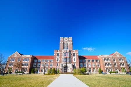 La sala Ayres en la Universidad de Tennessee, Knoxville