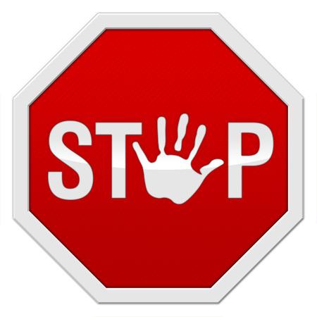 Stop Signal Фото со стока