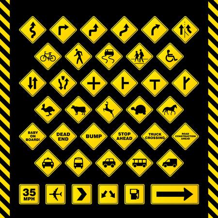 Road Sign Фото со стока