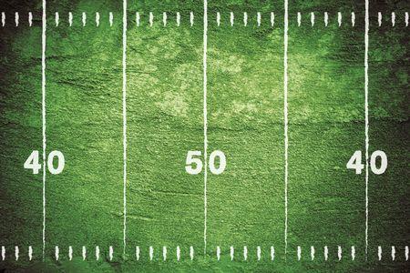 american football background: Grunge football field background.