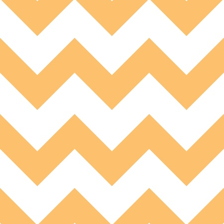 Classic chevron pattern. Light orange creme color.   Illustration