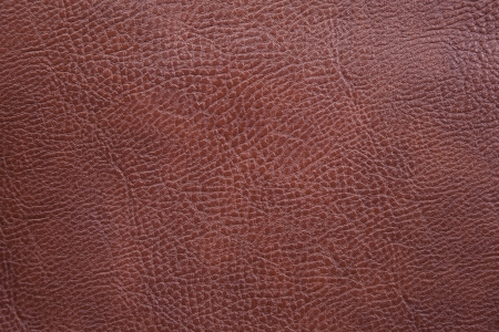 A close up background texture of brown leather  Imagens