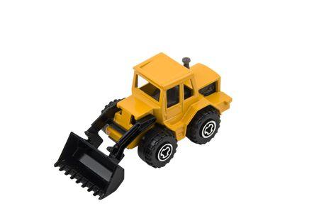 Palas cargadoras compactas de juguetes aislados sobre fondo blanco Foto de archivo - 4307327