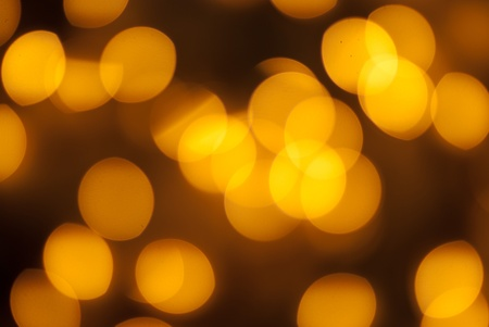 Christmas bokeh lights in tree used for background photo