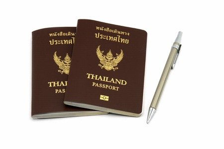 foreign policy: Passport and pen
