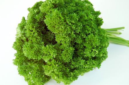 Close-up of parsley leaves