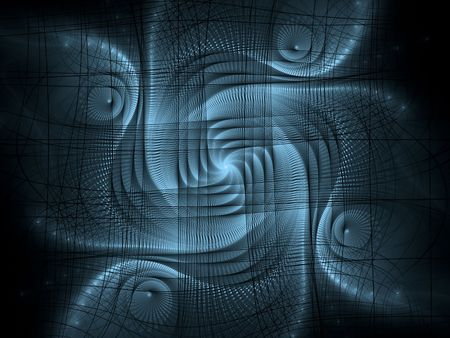 cliipart: Abstract fractal geometric design