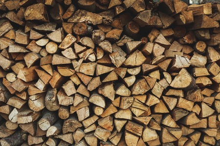 fire wood: Fire wood stock for winter as background
