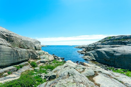 ende: Norwegian sea and mountains - Verdens Ende