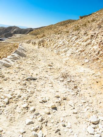 judaean: View of Judaean Desert from Mount Scopus. Jerusalem Israel