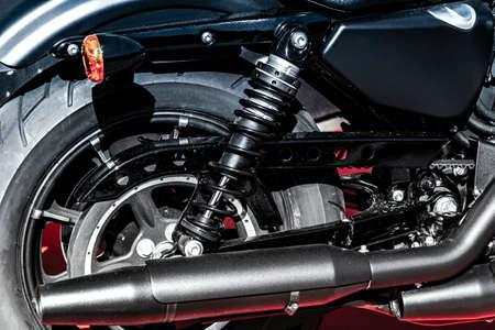 beatiful, new motorcycle
