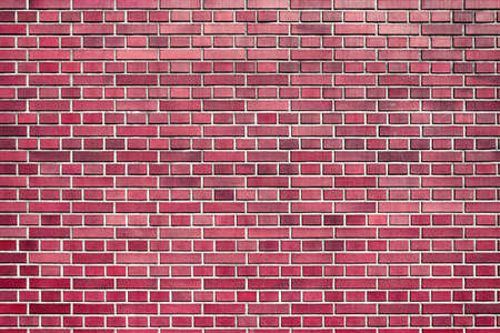 red wall brick background pattern