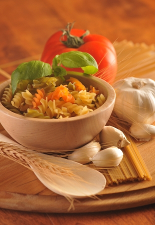 Italian cuisine ingredients photo
