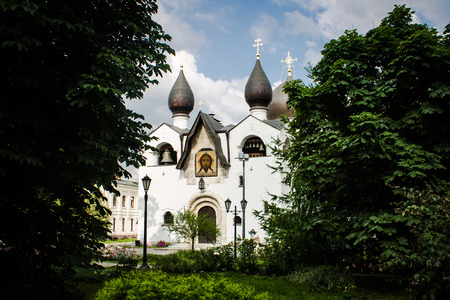 convent: Martha and Mary Convent in Moscow, Russia Stock Photo